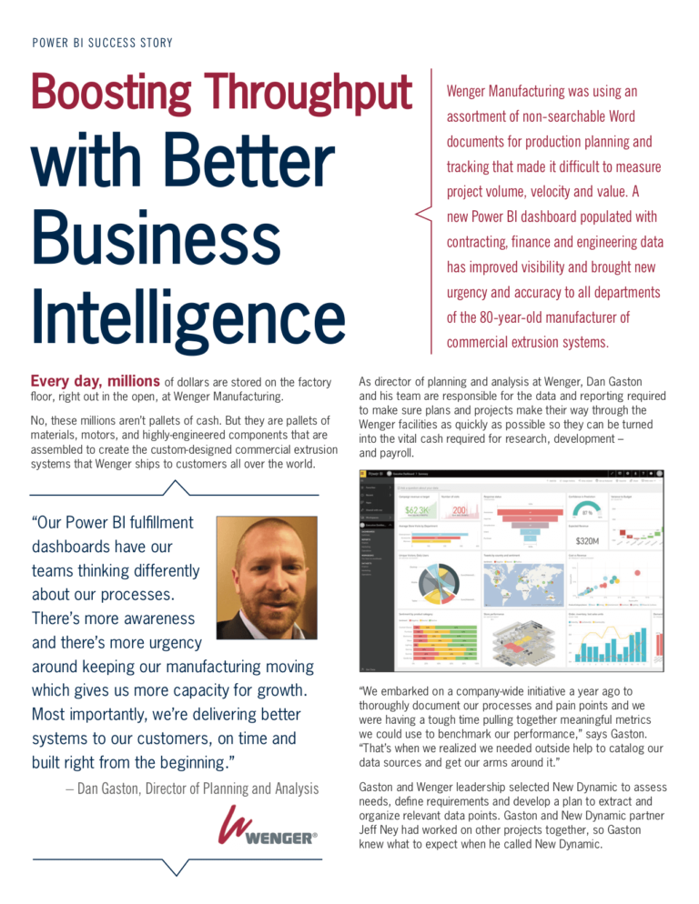 Boosting Throughput with Better Business Intelligence PDF